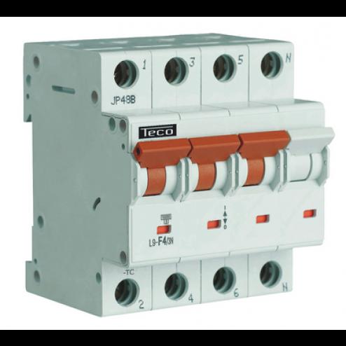L9C163N4-Automaat 3P+N 16A-Teconex