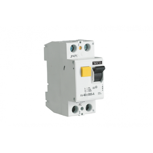 F963203A-Differentieelschakelaar 2P 63A 300mA-Teconex