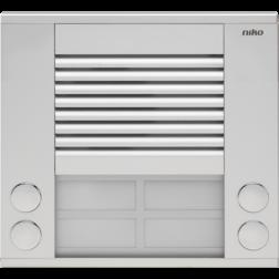 Audio Deurst 2X2 drukknop  10-104
