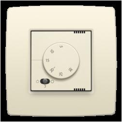 Elektronische Thermostaat Creme 100-88000