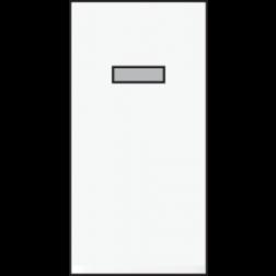 Schakelaar Wissel 22,5X45 White 101-07610