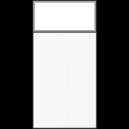Schakelaar Wissel 22,5X45 White 101-09610