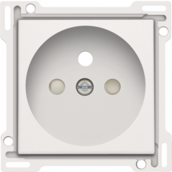 Centraalplaat Stopcontact 28,5mm White 101-66601