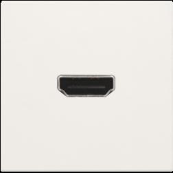 Afwerkset HDMI Schroef White 101-69416