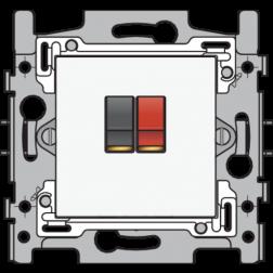 Aansl 1Xspringconnector White 101-69800