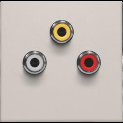 Afwerking 3 x Cinch Light Grey 102-69717