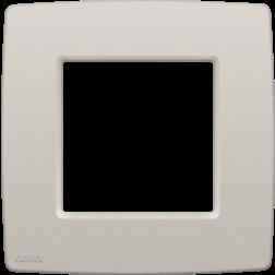 Afdekplaat Light Grey 102-76100