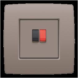 Centraalplaat luidspreker Greige 104-69801