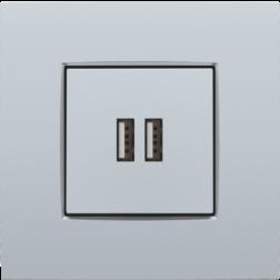Centraalplaat USB-lader Sterling 121-68001