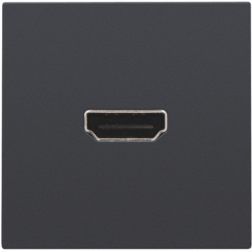 Afwerking HDMI-HDMI Athracite 122-69417