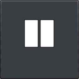 Centraalplaat luidspreker Athracite 122-69801
