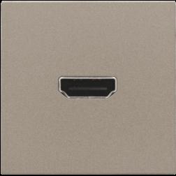 Afwerkset HDMI Schroef Bronze 123-69416