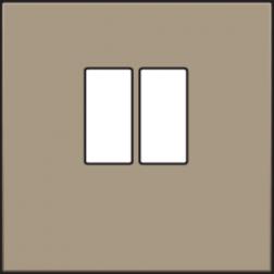 Centraalplaat luidspreker Bronze 123-69801