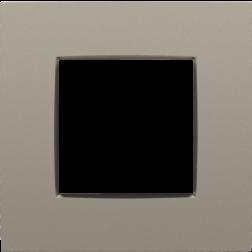 Afdekplaat Bronze 123-76100