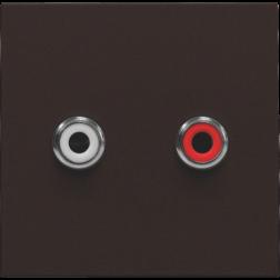 Afwerkset 2 x Cinch Dark Brown 124-69716