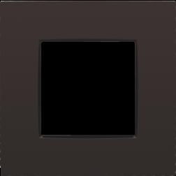 Afdekplaat Dark Brown 124-76100