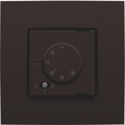 Elektronische Thermostaat Dark Brown 124-88000