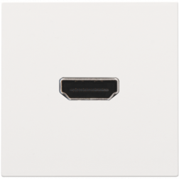 Afwerking HDMI-HDMI White Coated 154-69417