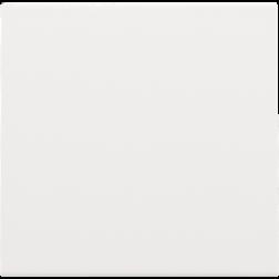 Blindplaat kabeluitvoer + trekontlasting White Coated 154-76001