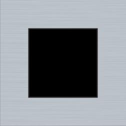 Afdekplaat Pure Alu Grey 155-76100