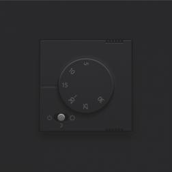 Elektronische Thermostaat Black Coated 161-88000