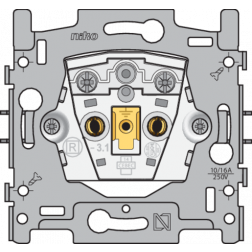 Sokkel Stopcontact zonder aarding 21mm  170-31100