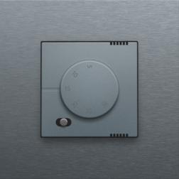 Elektronische Thermostaat Alu Grey Coated 220-88000