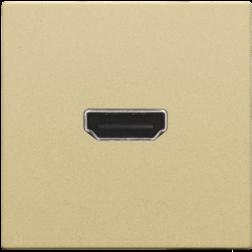 Afwerking HDMI-HDMI Alu Gold Coated 221-69417