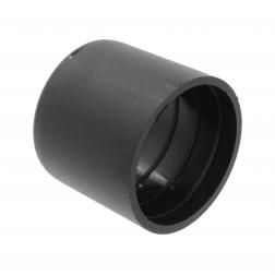 Ingang PVC buis 20mm zwart