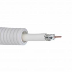 Buis flexibel coax TELENET indoor PVC6