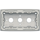 102-77500-Opbouwdoos Tweevoudig L,Grey Light Grey 102-77500-Niko
