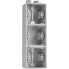 700-84302-Hydro Opbouwdoos 3 x Verticaal  700-84302-Niko