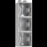 Hydro Opbouwdoos 3 x Verticaal  700-84302